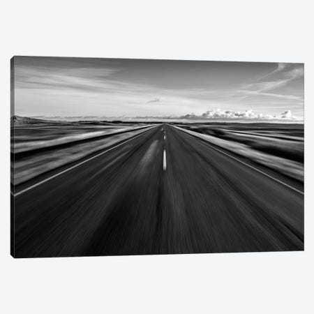 Driving West Coast. Canvas Print #LEI10} by Leif Londal Canvas Wall Art