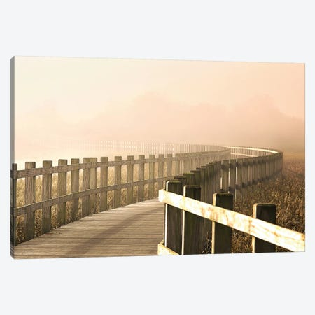 The Path Gets Brighter. 3-Piece Canvas #LEI2} by Leif Londal Art Print