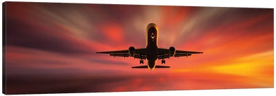 Colorful Landing. Canvas Art Print