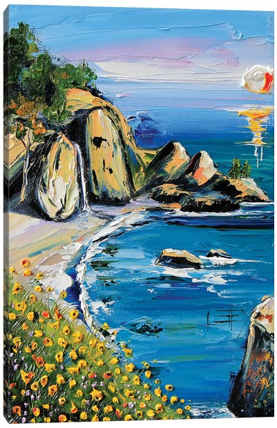 My Heart Is In Big Sur I Canvas Art Print