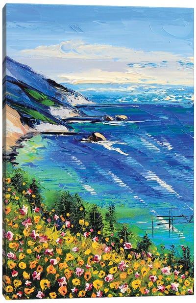 My Heart Is In Big Sur II Canvas Art Print