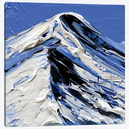 My Mountains Dream Canvas Print #LEL103} by Lisa Elley Art Print