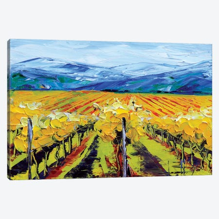Napa II Canvas Print #LEL105} by Lisa Elley Canvas Wall Art