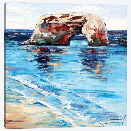 Natural Bridges  Canvas Print #LEL115} by Lisa Elley Art Print