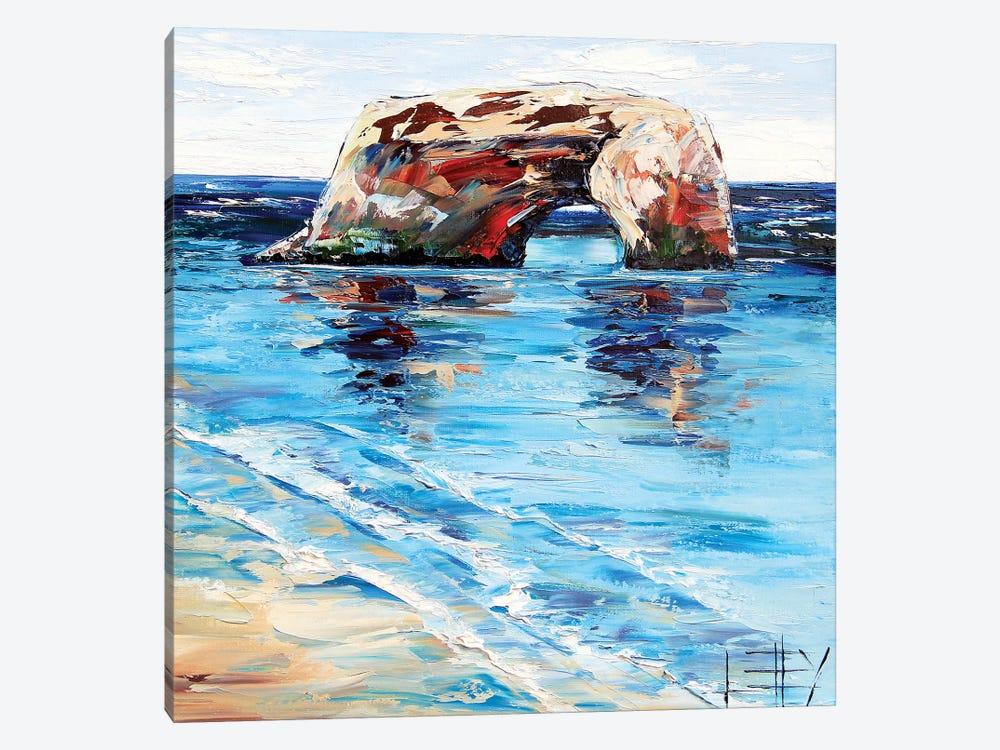 Natural Bridges  by Lisa Elley 1-piece Canvas Artwork
