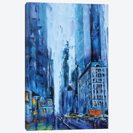 NYC Canvas Print #LEL119} by Lisa Elley Canvas Art