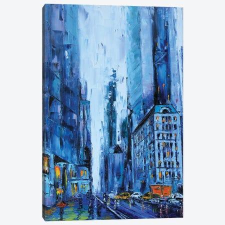 NYC Canvas Print #LEL119} by Lisa Elley Canvas Art