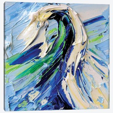 Pacific Wave Canvas Print #LEL121} by Lisa Elley Canvas Art Print
