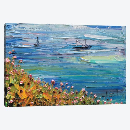 Pescadero II Canvas Print #LEL123} by Lisa Elley Art Print