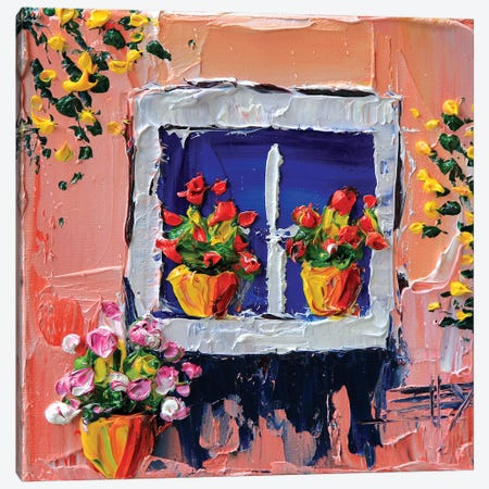 Piccola Casa Canvas Print #LEL124} by Lisa Elley Canvas Art