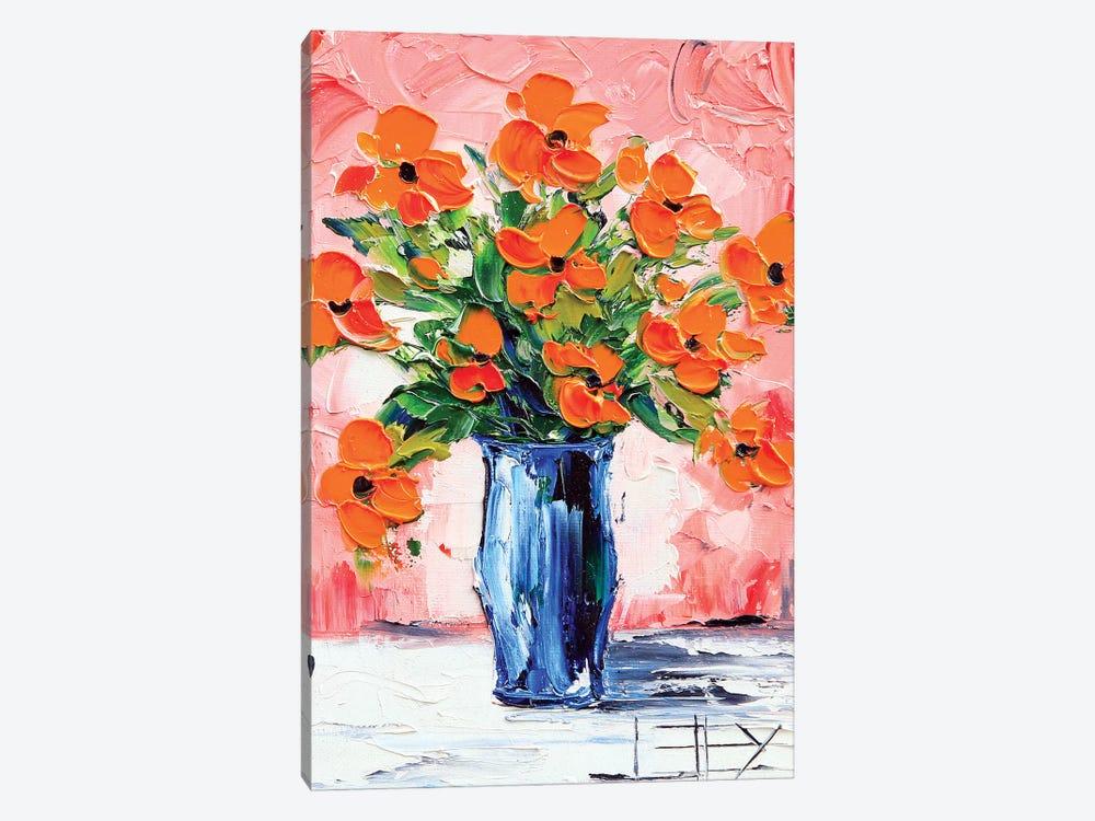 Poppy II by Lisa Elley 1-piece Canvas Wall Art