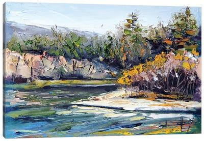 Russian River  Canvas Art Print