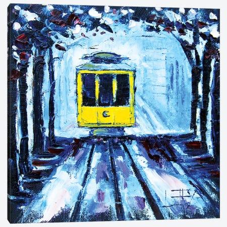 San Francisco Cherry Canvas Print #LEL145} by Lisa Elley Canvas Art
