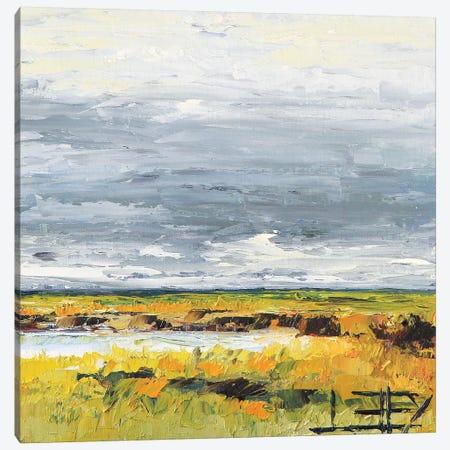 Stormy Horizon Canvas Print #LEL150} by Lisa Elley Canvas Artwork