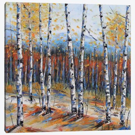 Tahoe Birch I Canvas Print #LEL155} by Lisa Elley Canvas Print