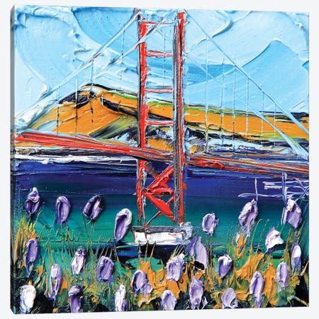 To The Golden Gate Canvas Print #LEL158} by Lisa Elley Canvas Artwork