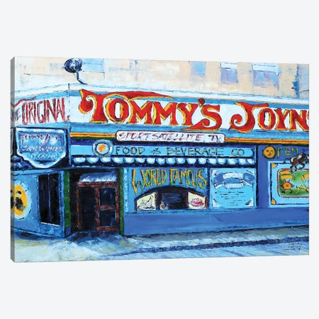 Tommy's Joynt Canvas Print #LEL159} by Lisa Elley Canvas Art