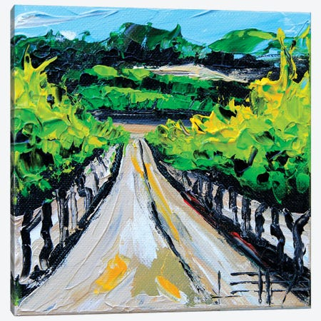Winery In Carmel Canvas Print #LEL171} by Lisa Elley Canvas Artwork