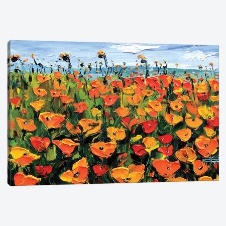 California Spring Canvas Print #LEL173} by Lisa Elley Canvas Art