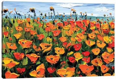 California Spring Canvas Art Print