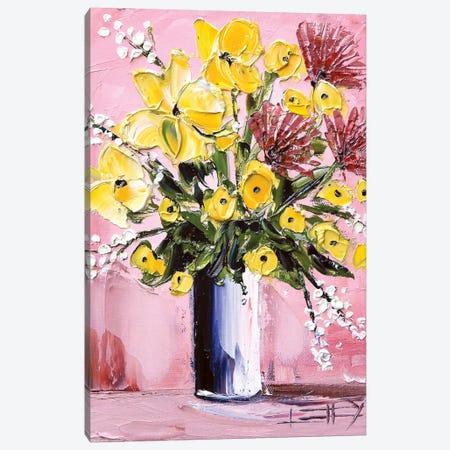 Beauty All Day Canvas Print #LEL175} by Lisa Elley Canvas Print