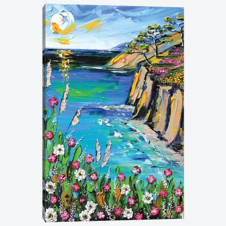 A Perfect Day In Monterey 3-Piece Canvas #LEL178} by Lisa Elley Canvas Wall Art
