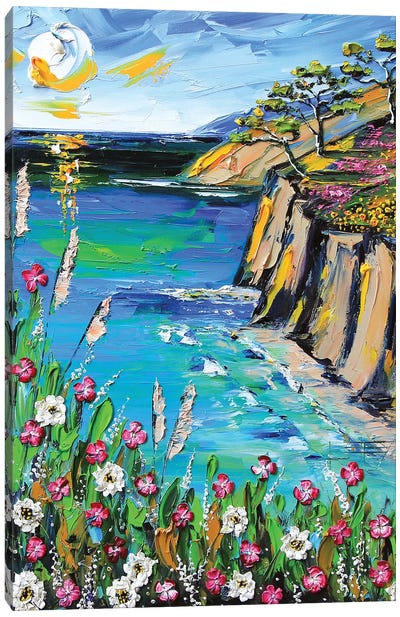 A Perfect Day In Monterey Canvas Art Print
