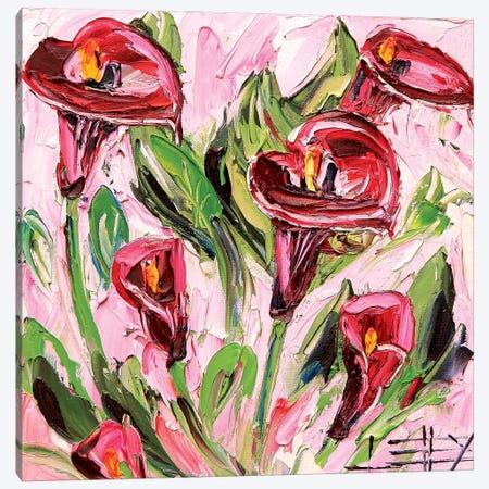 Iris Canvas Print #LEL179} by Lisa Elley Canvas Wall Art