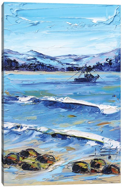 A Day In Monterey Canvas Art Print