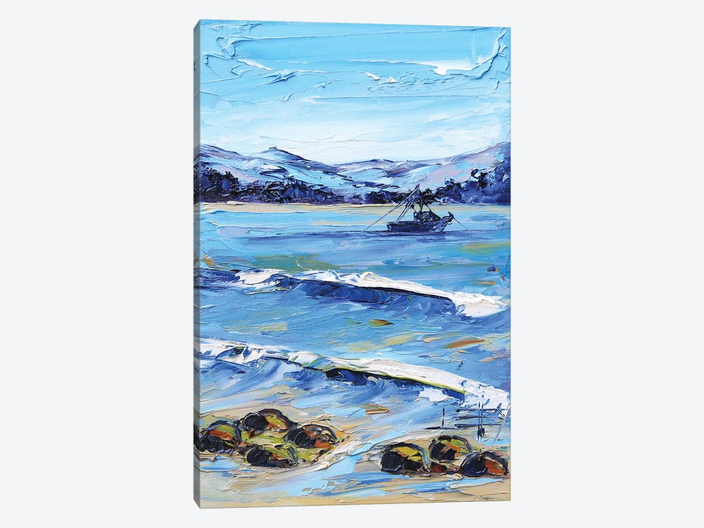 A Day In Monterey by Lisa Elley 1-piece Canvas Wall Art