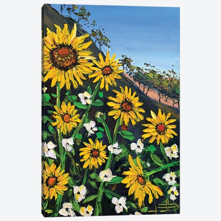 Summer Love Canvas Print #LEL184} by Lisa Elley Canvas Artwork