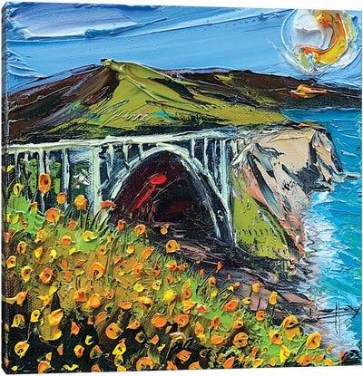 Bixby Bridge II Canvas Art Print