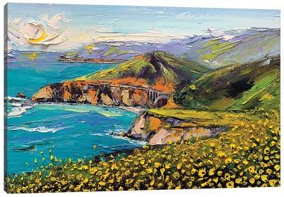 Dreaming Of Big Sur Again Canvas Art Print