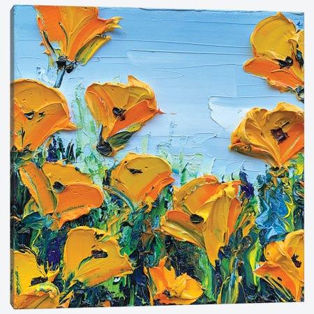 Sheer Joy Canvas Print #LEL191} by Lisa Elley Canvas Art
