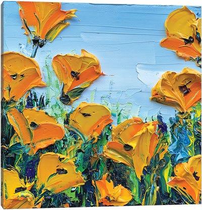 Sheer Joy Canvas Art Print