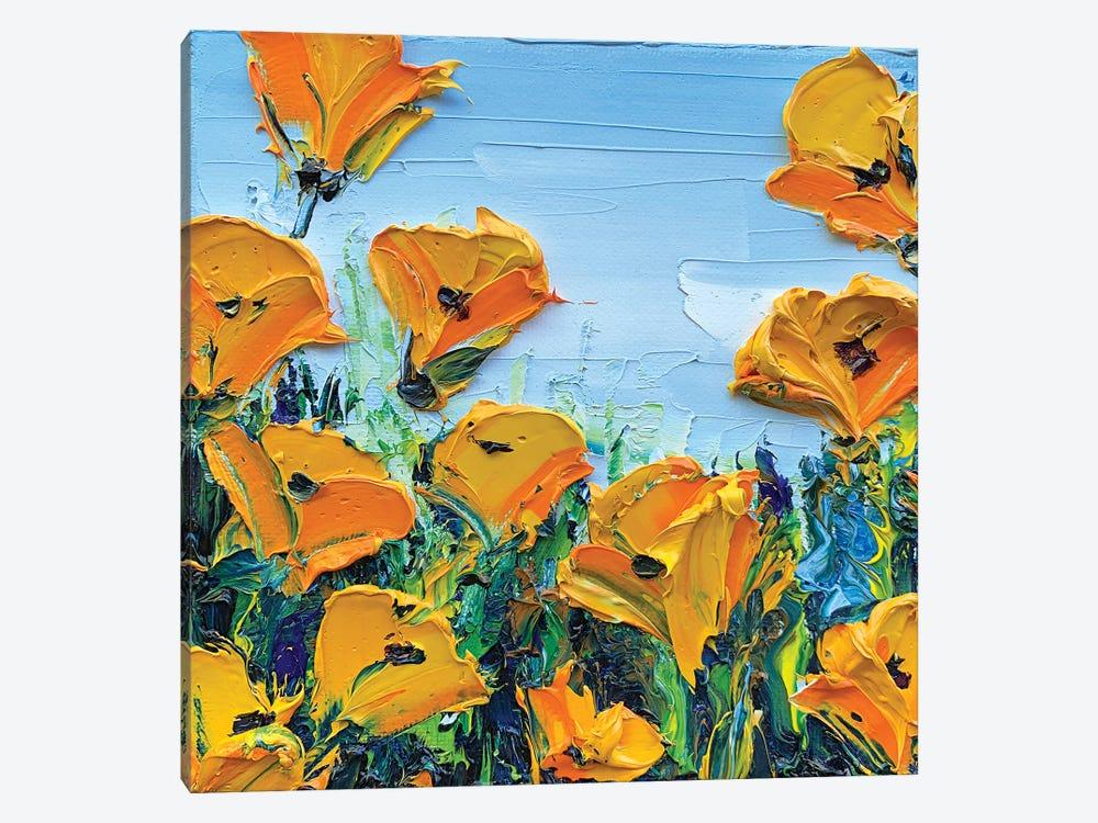 Sheer Joy by Lisa Elley 1-piece Canvas Artwork