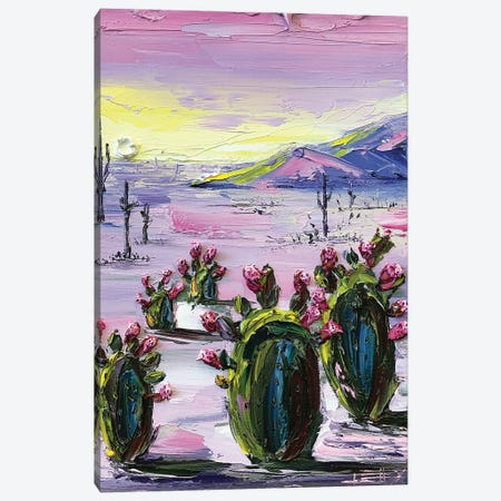 Desert Desire Canvas Print #LEL199} by Lisa Elley Canvas Wall Art