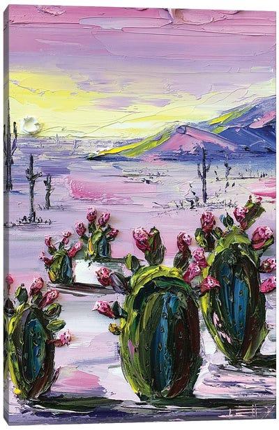 Desert Desire Canvas Art Print
