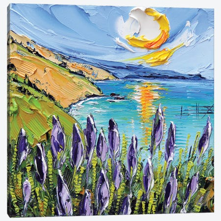 From Big Sur, With Love Canvas Print #LEL205} by Lisa Elley Canvas Print
