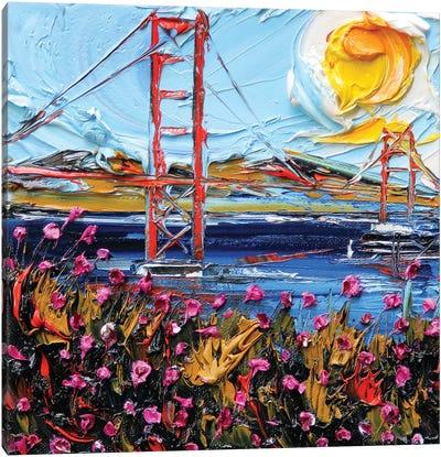Golden Gate Days Canvas Art Print