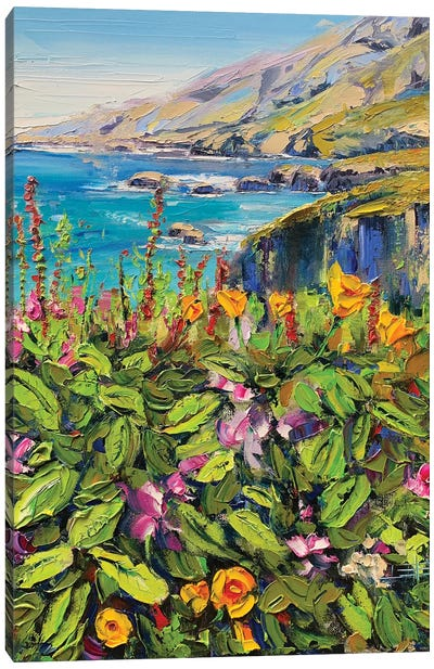 Big Sur, From My Heart Canvas Art Print