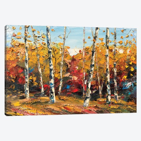 When September Comes Canvas Print #LEL214} by Lisa Elley Canvas Wall Art