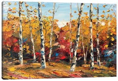 When September Comes Canvas Art Print