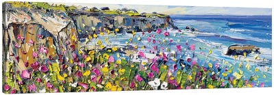 Springtime In California Canvas Art Print