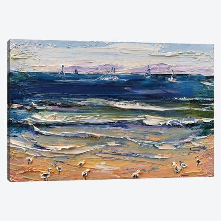 A Morning In Monterey Canvas Print #LEL222} by Lisa Elley Canvas Art