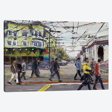 San Francisco: The Castro Canvas Print #LEL225} by Lisa Elley Canvas Art Print