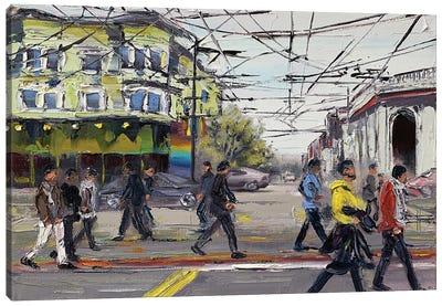 San Francisco: The Castro Canvas Art Print