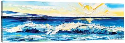 Ocean Caress Canvas Art Print