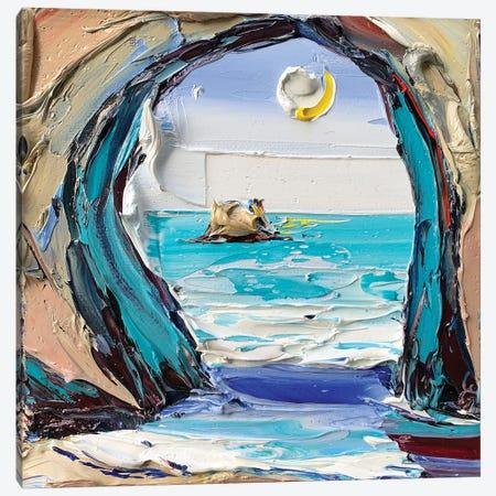 Van Gogh'S Grotto Canvas Print #LEL229} by Lisa Elley Canvas Artwork
