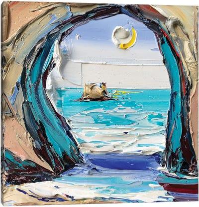 Van Gogh'S Grotto Canvas Art Print